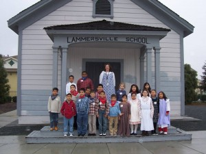 Lammersville Pioneer School today