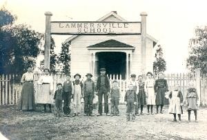 Historic Lammersville School House c. 1904